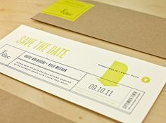 Nick Brue Updates | Allan Peters' Blog #print #wedding #2 color #save the date