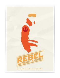 star wars/classic blockbuster mashup « thaeger #luke #rebel #soldier #wars #star