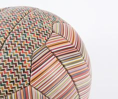 paul smith releases limited edition printed leather football #smith #football #paul