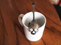 Skull Sugar Spoon #tech #flow #gadget #gift #ideas #cool