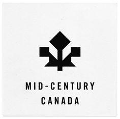 Mid Century Canada logo #logo