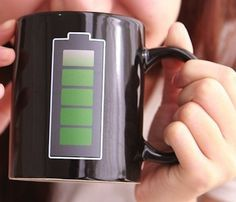 Battery Coffee Mug #gadget