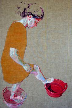 Cristina Troufa | PICDIT #painting #design #art #portrait