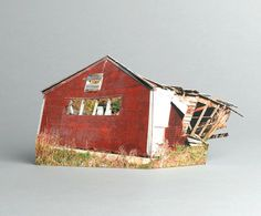 brokenhouses-18 #sculpture #house #art #broken #miniature