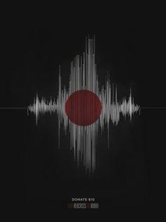 Japan RedCross Poster by Zac Neulieb #japan #red cross #help japan