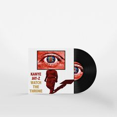 Watch The Throne by Jay-Z & Kanye West Album Cover Redesign by Matt Hodin www.Behance.net/MattHodin