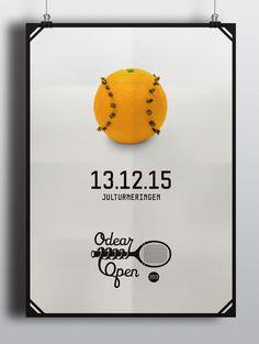 Odear-Open-poster #tennis #poster