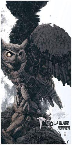 Blade-Runner-Inspired Illustrations - AJ-Frena