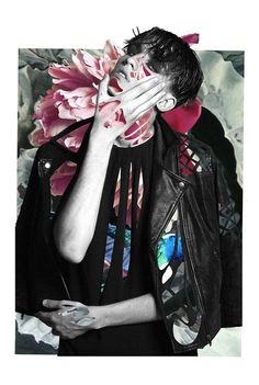 In Bloom on Behance #collage