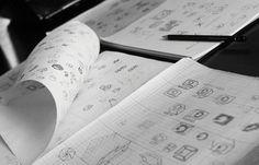 Logo sketching #vietnam #logotype #branding #sketching #logo #bratus