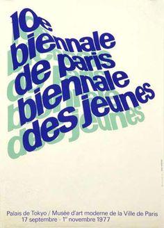 Jean Widmer — 10e Biennale de Paris (1977) #paris #de #10e #jean #1977 #biennale #widmer