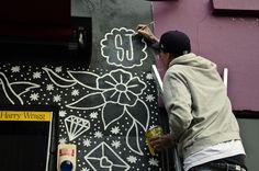 mural, tattoo, flash, steen jones