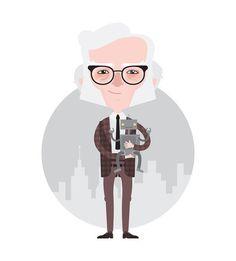 Isaac Asimov #city #robot