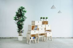 Furniture collection by Rianne Koens - www.homeworlddesign. com (4) #design #furniture
