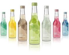 TheDieline.com: Package Design: ISST Organic Ice Tea #packaging