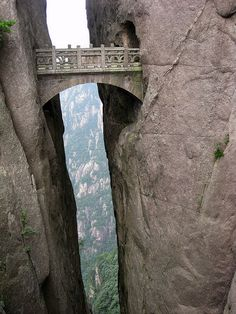 bridge #rock #china #bridge