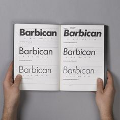 SI Classics: North × Barbican | September Industry #branding #corporate #guidelines #style #guide
