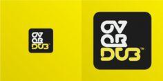 Overdub by ~woweek #logo #woweek #overdub #typography