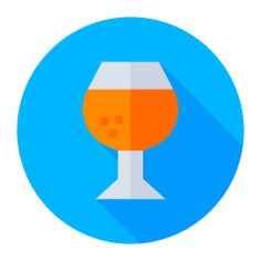See more icon inspiration related to food and restaurant, brandy, pub, alcoholic drink, alcohol and drink on Flaticon.
