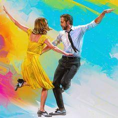 La La Land by Denis Gonchar - Home of the Alternative Movie Poster -AMP-