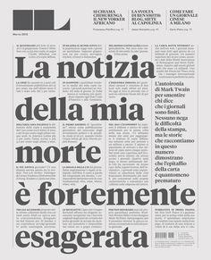 Francesco Franchi – Editorial #type #layout