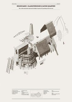 Architecture drawing Yannis Halkiopoulos
