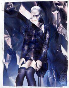 photorealistic fashion spread paintings 1