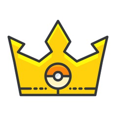 See more icon inspiration related to crown, pokemon, nintendo, gaming and video game on Flaticon.
