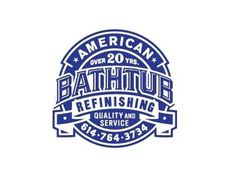 Dribbble - American Bathtub Refinishing by Tim Frame #logo #bathtub #vintage #typography