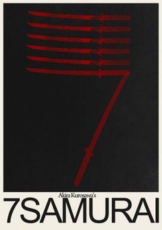 Misc. #movie #design #graphic #poster #samurai