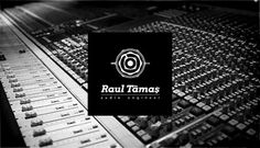 Raul Tamas - Branding on the Behance Network #vintage #logo #music #band #drums #speaker #knob #sound #audio #stick #engineer