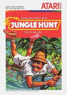 Atari - Jungle Hunt | Flickr - Photo Sharing! #games #video #illustration #manual #booklet