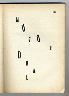 As palavras em liberdade compositiva ! Futurismo. Filippo Tommaso Marinetti: Parole in Libertà , 1914