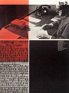 Cover from 1960 Typographische Monatsblätter issue 3 #typography #grids #cover design
