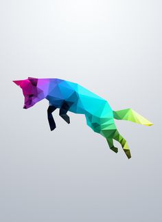 Glass Animal – Flying Fox Art Print by Three Of The Possessed #t-shirt #design #fox