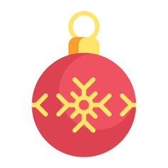 See more icon inspiration related to ornament, ball, bauble, christmas ball, xmas, decoration and christmas on Flaticon.