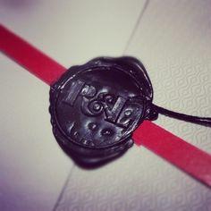 Antonio Valiente #monograma #lacre #sealing #monogram #wax #typography