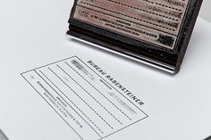 Bureau Rabensteiner : Lovely Stationery . Curating the very best of stationery design