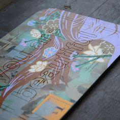 #youarebeautiful #yabsticker #art #chicago #jbyrnes #girl #wood #art #streetart