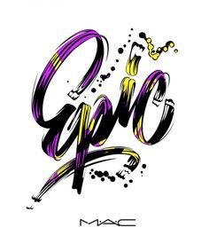 Epic M·A·C by Alex Trochut