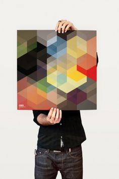 aanthony jamess #color #geometry #poster