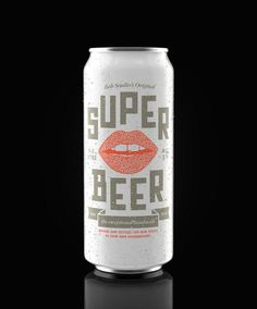 Super Beer | Beautiful Beer Labels #beer