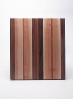 Mixed Wood Serving Board, by Kahokia Design Brooklyn, NY #ny #serving #board #design #home #wood #cutting #kitchen #york #nyc #brooklyn #new