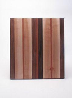 Mixed Wood Serving Board, by Kahokia Design Brooklyn, NY