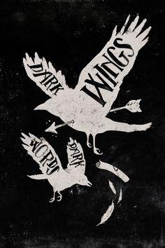 Dark Wings, Dark Words by WEAREYAWN