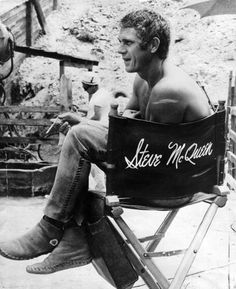 STEVE McQUEEN | HOLLYWOOD'S ANTI-HERO & TRUE SON OF LIBERTY « The Selvedge Yard #man #the #steve mcqueen