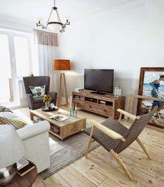 Interior RDD by INT2 Architecture #hoooooomecom #design #living #interiors #room
