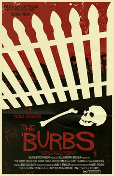 The 'Burbs Poster by ~markwelser on deviantART #movie #horror #poster
