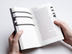 Analogue Interactivity in Contemporary Book Design, book submitted and designed by Éva Valicsek (2013). Photo by Nóra Dénes.–Type Onl #valicsek2013 #va #analogue #photo #submitted #design #onl #book #contemporary #interactivity #bynra #designed #type #dnes