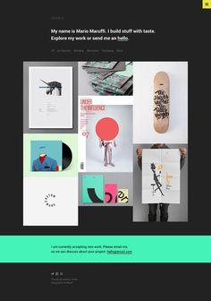 STAPLE - Tumblr Theme #tumblr #mario #maruffi #ux #portfolio #design #themebull #theme #website #ui #web